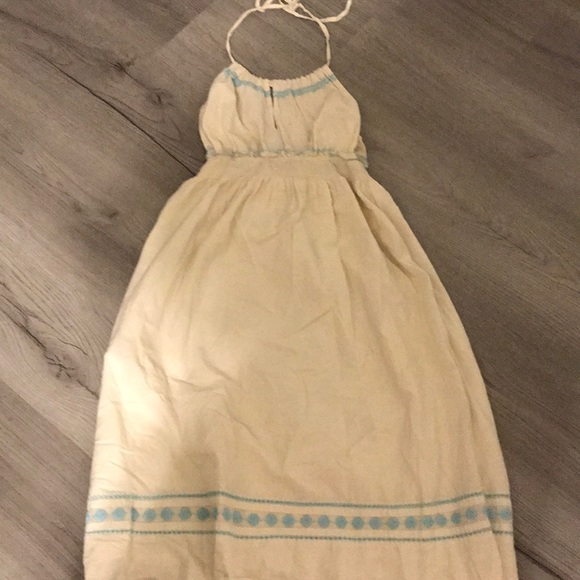 Old Navy Dresses & Skirts - Old Navy linen halter dress.